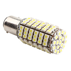 1157 4.2W 126x3528 SMD 6500-7000K White Light LED Blub for autolamper (DC 12V)