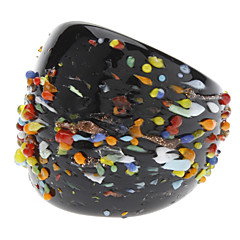 Colorful Esau Bead Colored Glaze Ring