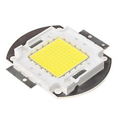 diy 100W 8000-9000lm 6000-6500K naturligt vitt ljus integrerad LED-modul (33-35V)