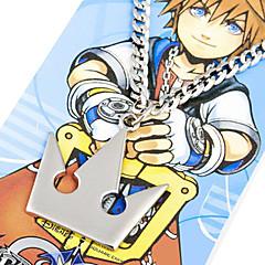 Biżuteria Zainspirowany przez Kingdom Hearts Sora Anime / Gry Video Akcesoria do Cosplay Naszyjniki Srebrny Slitina Męskie