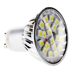 4W GU10 Focos LED MR16 20 SMD 5050 360 lm Blanco Natural AC 100-240 V