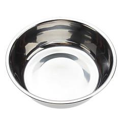 Ciotola in acciaio inox per gatti cani