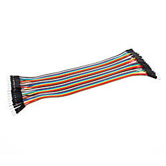 Dupont Wire Male to Male Cable Line 40P-40P Test Lines Connector (20cm)
