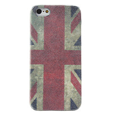 Retro Style UK National Flag Pattern Hard Case for iPhone 5/5S