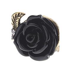 Maxi anel Liga Formato de Flor Rose Jóias Para Diário 1peça