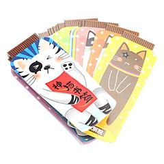 Children Stationery Lovely Cat Design Bookmark Label (20-Pack)