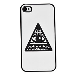 Flash Design Eye Pattern Hard Case for iPhone 4/4S