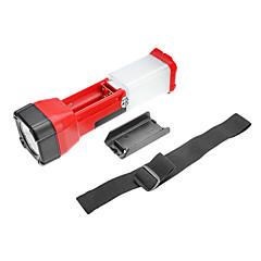 TD-2058 2-tilassa LED-taskulamppu (3xAA, monivärinen)