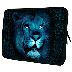 "Lion Mønster 7 ""/ 10"" / 13 ""Laptop Sleeve Case for MacBook Air Pro / Ipad Mini / Galaxy Tab2/Sony/Google Nexus 18217"