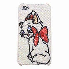 Cute Kitten Diamond Hard Case for iPhone 4/4S