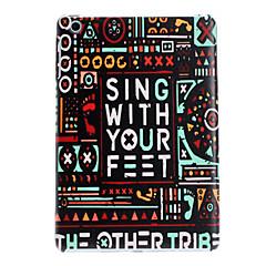 Sing With Your Feet Design Hard Case for iPad mini 3, iPad mini 2, iPad mini