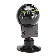 Car Compass Thermometer Guide Ball