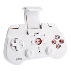 ipega controlador inalámbrico de juegos móviles con bluetooth 3.0 para iPhone / iPad / iPod y el teléfono Android / tablet android (blanco)
