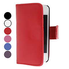Elegantti PU Leather Case for iPhone 4 ja 4S (Assorted Colors)