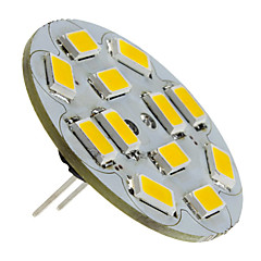 2W G4 LED Spotlight 12 SMD 5730 135-155 lm Warm White DC 12 V