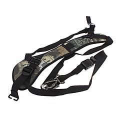 SLR / DSLR 카메라에 대한 빠른 스트랩 어깨 끈 (대나무 질감 녹색)