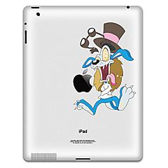 Cartoon Design Autocollant de protection pour iPad 1, iPad 2, iPad 3 et le nouvel iPad