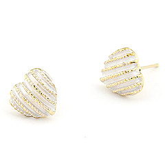 Women's Sweety Alloy Heart Pattern Earrings(Assorted Colors)
