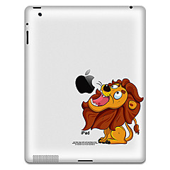Lion Pattern Protective Sticker for iPad 1, iPad 2 ,iPad 3 and The New iPad