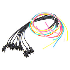 1 Meter Flexible Car Decorative Neon Light 4mm EL Wire Rope
