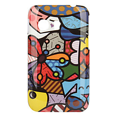 Butterfly Pattern Hard Case for Samsung Galaxy Y S5360
