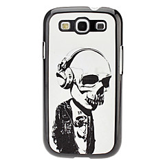 Horrible Skull Pattern Hard Case för Samsung Galaxy S3 I9300