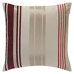Polyester Pillow Cover , Striped Country
