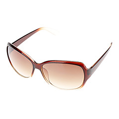 Frauen Gradient Brown Objektiv Brown Frame Cat Eye Sonnenbrillen