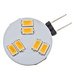 2W G4 LED-lampor med G-sockel 6 SMD 5630 160 lm Varmvit AC 12 V