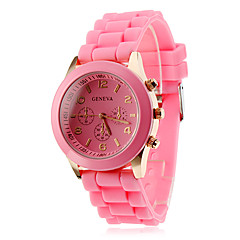 Women's and Children's Silicone Analog Quartz Wrist Watch (Assorted Colors) Cool Watches Unique Watches Fashion Watch