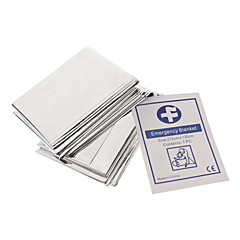 Outdoor Compacte lichtgewicht Gealuminiseerd winddicht Emergency Blanket Survival Sheet