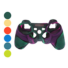 Beskyttende Dual-Color Silikonetui for PS3-kontrolleren