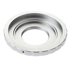 C mount Lens to Micro 4/3 M4/3 Mount Adapter Adaptor ring (Silver)
