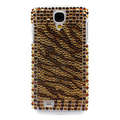 Tekojalokivi sisustettu Tiger Stripe Hard Case for Samsung Galaxy S4 I9500