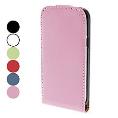 PU piele de caz pentru Samsung Galaxy S4 mini-I9190 (culori asortate)