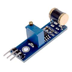 801S LM393 modulo sensore Vibrazione - Blu + Nero (CC 3 ~ 5V)