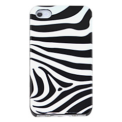 Zebra-stripe Pattern Hard Case for iPhone 4/4S