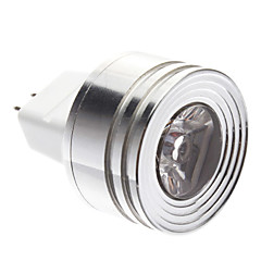 GU5.3(MR16) 1W 1 LM Warm White MR11 LED Spotlight DC 12 V