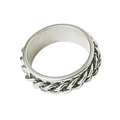 Z&X®  Unique Titanuim Steel Man Ring