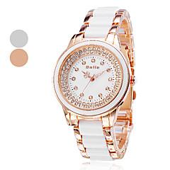 Men's Water Resistant Style Plastic Alloy Analog Quartz Wrist Watch (Assorted Colors)