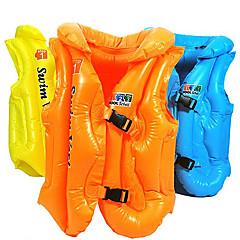 Kid's PVC Swim Vest(Random Colors,L)