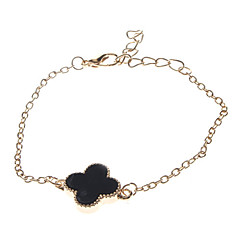 Clover Metal Gold Bracelet