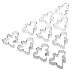 Kid Shaped Cake Biscuit Cookie Cutter (10pcs)
