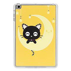 алмаз выглядят счастливыми кошку на Луне случае для Ipad Mini 3, Ipad Mini 2, Ipad мини