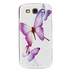 Flying Butterflies Pattern Hard Case for Samsung Galaxy S3 I9300