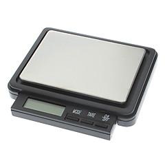 새로운 휴대용 디지털 방식으로 소형 가늠자 - 1000g/0.1g (2 개의 x AAA)