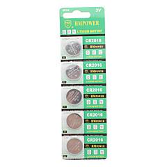 CR2016 3V Lithium Knopfzelle Batterie (10-Stück-Packung)