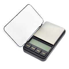 "2.4 ""LCD portátil Jóias Balança Digital de Bolso - 500g/0.01g (2x AAA)"