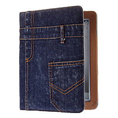 Cool Demin Designed Full Body Case with Smart Case Cover  and Stand for iPad 2/3/4 (Optional Colors)