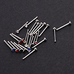 24 Stainless Steel Round Nose Stud